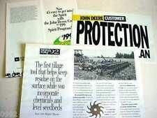 11 John Deere Leftover & Odd Brochures                                        b4