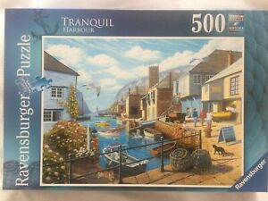 Brand New Ravensburger 500 Piece Jigsaw Puzzle - TRANQUIL HARBOUR