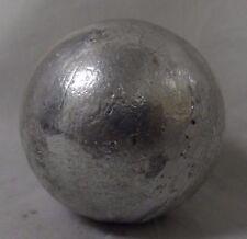 100 Lbs. Zinc Anode Ball .9998 Zinc Anode Bullion Alloy Rounds Free Shipping