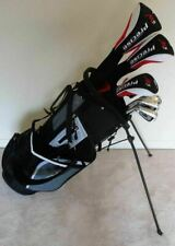 TALL Mens Left Handed Golf Club Full Set Driver, Wood, Hybrid, Irons Putter Bag