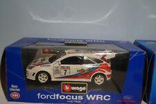 Burago ford focus wrc in 1:24 scale 1526
