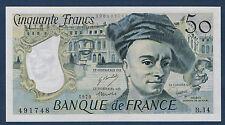 FRANCE - 50 FRANCS QUENTIN DE LA TOUR Fayette n°67.4 de 1979 en NEUF B.14 491748