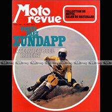 MOTO REVUE N°2110 SALON BRUXELLES ZUNDAPP KS 50 & 125 SPORT C50 JOËL ROBERT 1973