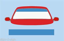 PLAIN WEDGWOOD BLUE SUN STRIP CAR DECALS GRAPHICS SS044