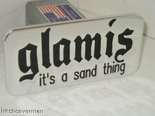hitch cover ,GLAMIS ,chevy,ford,h2,hummer,GOT SAND