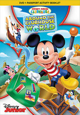 Mickey Mouse Clubhouse: Around the Clubhouse World (DVD,2014)