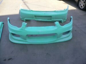2005 SUBARU WRX STI FIBERGLASS FRONT AND REAR BUMPERS COVERS