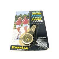 Vintage K&R PEDO Precise Mechanical Jogger Pedometer Body Watch USA
