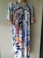 CHICO'S Floral Paisley Print Dress -NWT Sizes 1,2 - Super Sale!