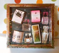 Victoria's Secret Four (4) Piece Eau De Parfum Gift Set Tease Bombshell Love +