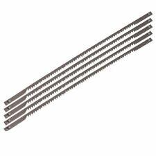 FERM 5 Scroll Saw Blades 18 TPI 127 mm Steel for Wood Metal Plastic SSA1003