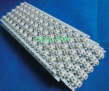 100pcs 3W Deep RED 650nm-660nm LED Plant Glow Light Bead with 16mm Round pcb