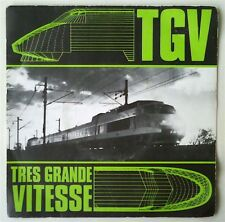 "TGV - Très Grande Vitesse 7"" MINIMAL WAVE SYNTH NEW WAVE MINIMAL SYNTHPOP RARE"