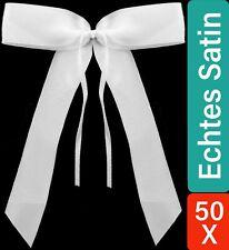 Starline 50Stk Handgemacht Hochzeitsantennenbögen  - Weiß (7701237)