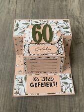 5x Einladungskarten GEBURTSTAG 30 40 50 60 70 stampin up Magnolienweg