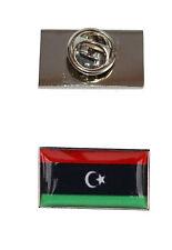 Bandera de Libia Corbata Pin Con Libre Bolsa De Organza