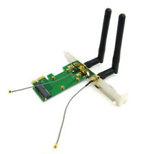 Mini PCI-E to PCI-E Express Wireless WiFi Adapter with 2 Antenna Desktop
