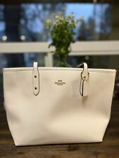Coach F58846  Ivory handbags new with tags large