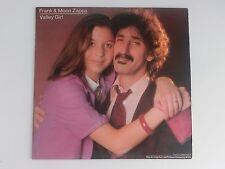 Frank & Moon Zappa Valley Girl 12 inch barking pumpkin records 1982  LP 45 rpm