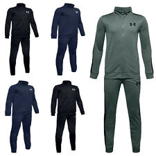Under Armour Boys Tracksuit Knit Kids Tracksuits Bottoms Football Training Pant