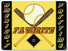 Baseball METAL SIGN sports funny art great gift vintage style Wall decor 193