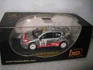 IXO 1:43 WRC PEUGEOT 206 #16 2nd SAFARI 2001 ROVANPERA PIETILANINEN   RAM051