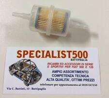 FIAT 500 F/L/R 126 D'EPOCA   FILTRO  BENZINA MOTORE