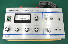 UREI 100-A Sonipulse Audio Monitor Analyzer Recapped Tested Works Well No Mic #1