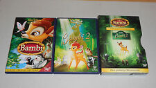 DVD Box Walt Disney Bambi + Bambi 2  Z4  3-Disc Collector´s Edition  2006  NEU
