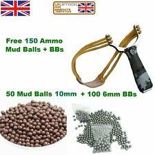 UK Powerful Slingshot Catapult Alloy Handle Slingshot Outdoor Game Hunting New