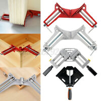 90 Degree Right Angle Picture Frame Corner Clamp Clip Woodworking Hand Tool F R