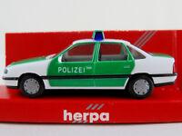 """Herpa 041300 Opel Vectra A GL Stufenheck (1988-1992) """"POLIZEI"""" 1:87/H0 NEU/OVP"""