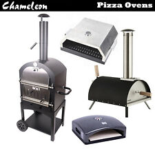 Outdoor Garden Pizza Oven Charcoal BBQ Grill 2 Freestanding Chimney multi option