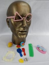 Vintage Fair Carnival Prize Toy Dime Store Vampire Teeth Goggles Top Phone Rings