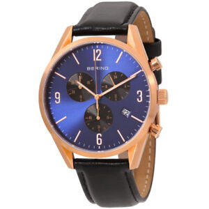 Bering Classic Quartz Movement Blue Dial Men's Watch 10542-567