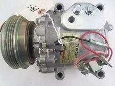 NEW AC Compressor With Clutch Sanden Reman Fits Hyundai Elantra 1992-1993 1.6L