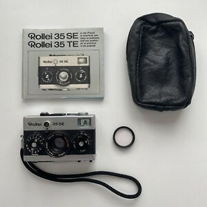 Rollei 35 SE Silver Sonnar 40mm f2.8 - EXCELLENT CONDITION: UK