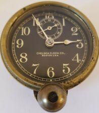 New ListingAntique Working 1920's Chelsea Clock Co. Brass Wind-Up Car Auto Automobile Clock