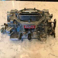 New Listingedelbrock Performer 1412 Carburetor Carb 800 Cfm With Manual Choke