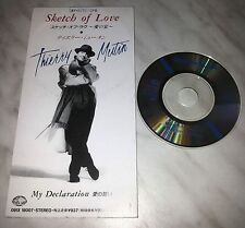 "CD THIERRY MUTIN - SKETCH OF LOVE - 091X 18007 - JAPAN 3"" INCH - SINGLE"