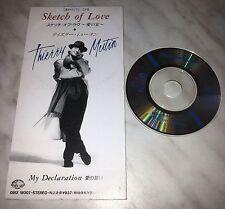 "CD THIERRY MUTIN - SKETCH OF LOVE - 091X 18007 - JAPAN 3"" INCH - SINGLE"