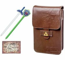 PowerA The Legend of Zelda Adventurer's Pouch Kit for Nintendo DS Systems - Brown
