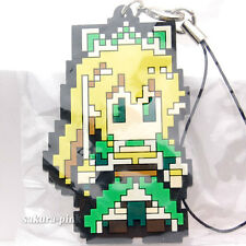 Leafa Dot Pic Ver. Sword Art Online Rubber Strap Key Chain Authentic BANPRESTO