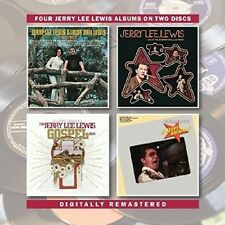 JERRY LEE LEWIS - TOGETHER/LIVE AT INTERNATIONAL,LAS VEGAS  2 CD NEUF