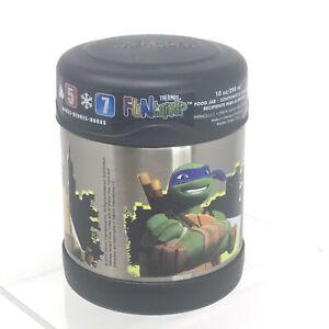 Thermos Funtainer Food Jar Teenage Mutant Ninja Turtles 10oz Vacuum Insulated