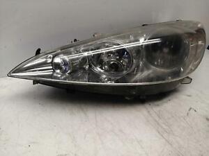 PEUGEOT 308  Mk1 Left Halogen Headlight Passenger 9656162780 DAMAGED