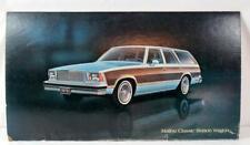"1978 Chevrolet Malibu Classic Station Wagon Cardboard Poster ~ 32"" x 18"""