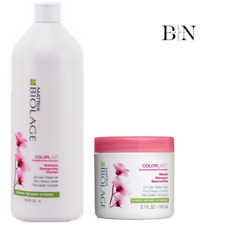 Matrix Biolage Colorlast Shampoo 1000ml & Mask 150ml DUO Coloured Hair Protect