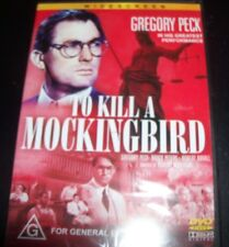 To Kill A Mockingbird (Gregory Peck) (Au Reg 4) Widescreen Edition DVD – New