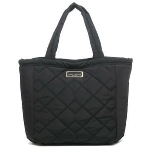 Marc Jacobs Women's Quilted Large Black Nylon Open Tote Shoulder Bag